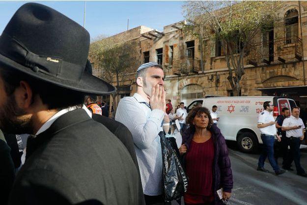 Un garde de sécurité poignardé à Jérusalem, le 10 décembre 2017