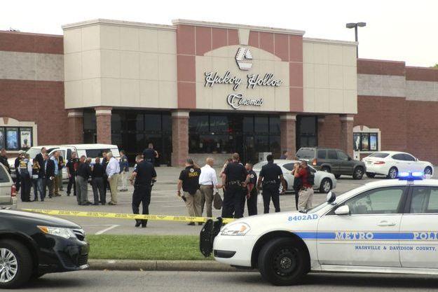 Le suspect a blessé trois personnes dans ce cinéma de la banlieue de Nashville.