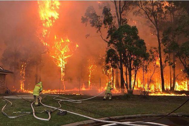 L'incendie s'est déclaré à Sydney.