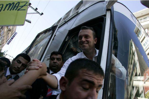 Cem Uzan à Istanbul, en juillet 2007.
