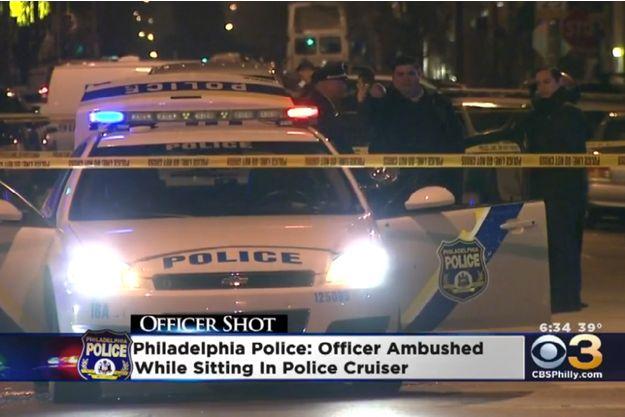 La police de Philadelphie a appréhendé l'auteur des coups de feu.