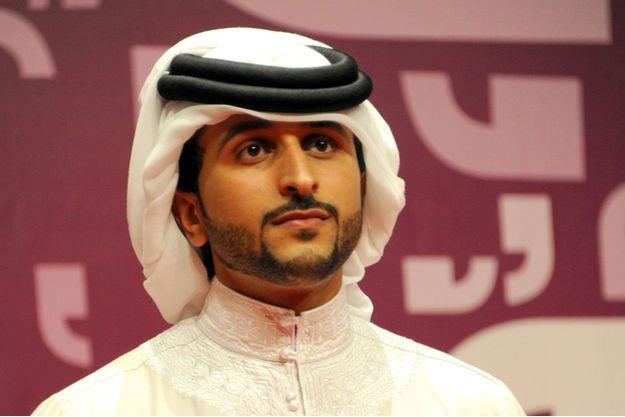 Nasser bin Hamad al-Khalifa.