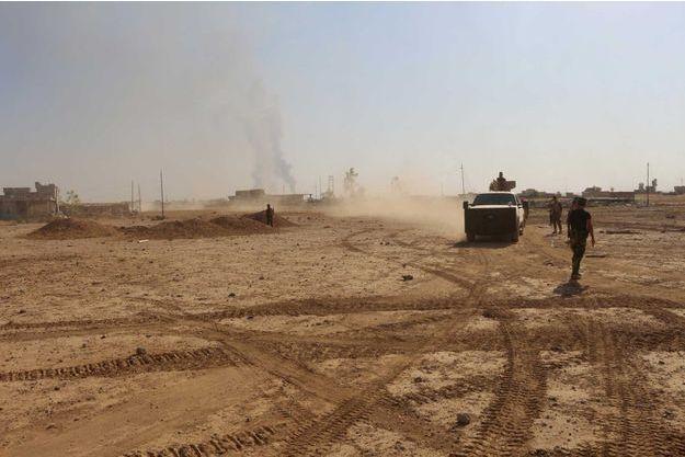 L'armée irakienne à la reconquête de Mossoul (le 15 juin 2016).