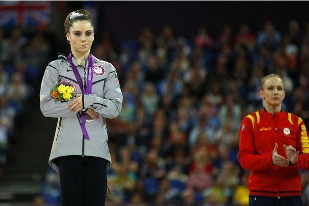 McKayla Maroney aux Jeux Olympiques de Londres en 2012.