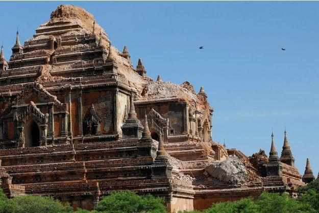 La touriste américaine s'est tuée en tombant d'une pagode à Bagan, en Birmanie (image d'illustration d'août 2016).