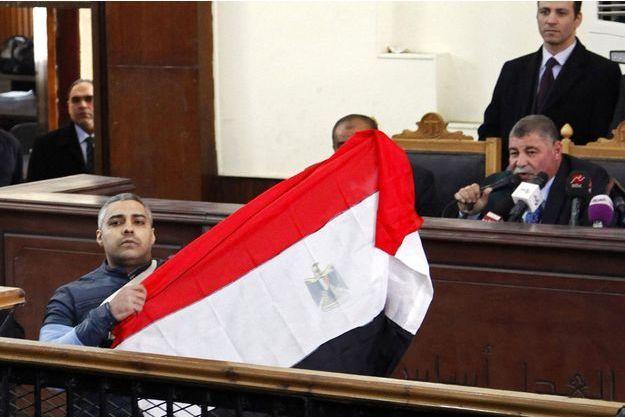 Mohamed Fahmy à l'audience de ce jeudi.