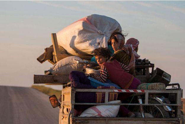 Des migrants kurdes tentent de fuir, mai 2015