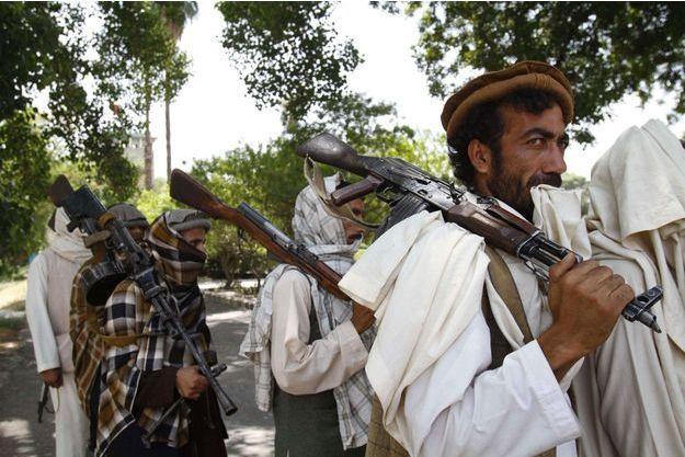Des taliban à Jalalabad en 2011 (photo d'illustration).