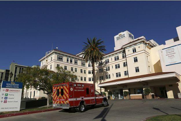 L'hôpital presbytérien de Los Angeles.