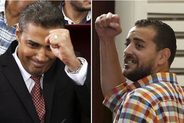 Mohamed Fahmy et Baher Mohamed.