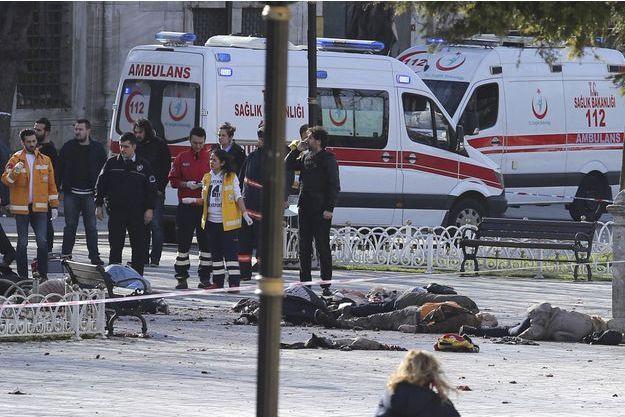 Une explosion est survenue à Istanbul, au moins dix personnes ont été tuées.