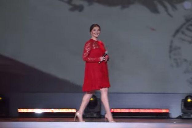 Alina Kabaeva est apparue en public à Moscou.