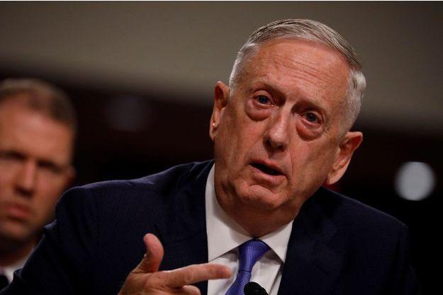 Le secrétaire américain à la Défense James Mattis.