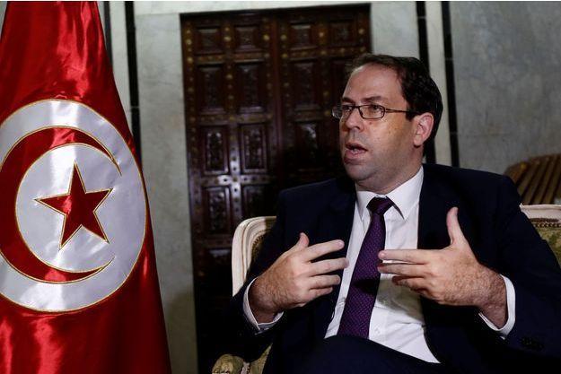 Le Premier ministre tunisien Youssef Chahed.