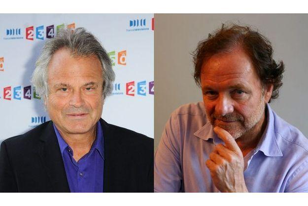 Franz-Olivier  Giesbert et Guillaume Durand négocient actuellement de nouvelles émissions pour la rentrée.  Pas sûr qu'ils aient gain de cause.