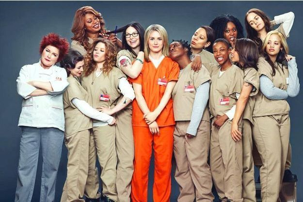 "Une image d'""Orange is The New Black"", la série inédite de Netflix."