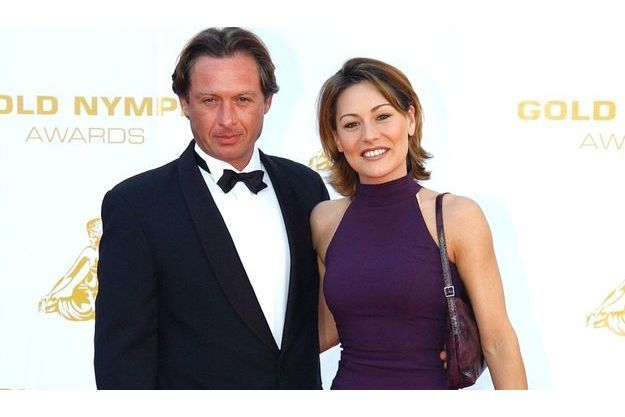 L'acteur avec Shirley Bousquet en 2002.