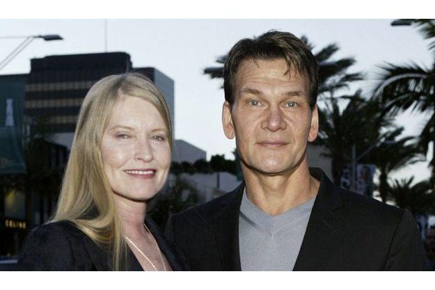 Patrick Swayze et sa femme Lisa. Le livre qu'ils avaient écrit juste avant la mort de la star vient de paraître aux Etats-Unis.