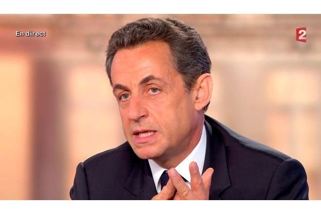 Nicolas Sarkozy a évoqué Dominique Strauss-Kahn à 23h31.