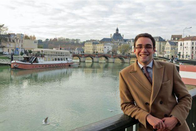 Bastien Marguerite est candidat à la mairie de Meaux face à Jean-François Copé.