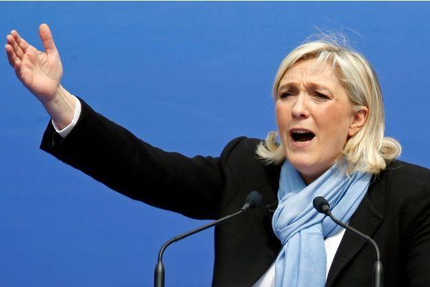 Marine Le Pen, le 1er mai 2013.