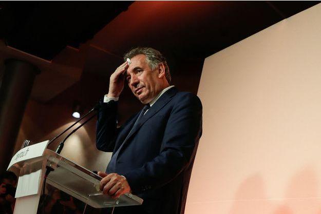 François Bayrou à Paris, le 21 juin 2017.