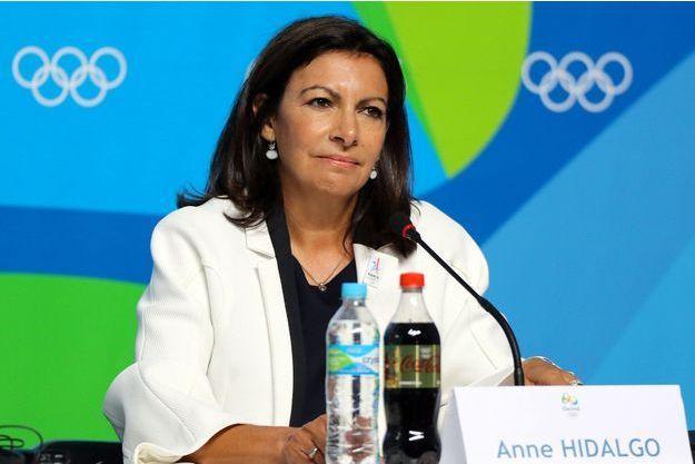 Anne Hidalgo à Rio le 5 août.