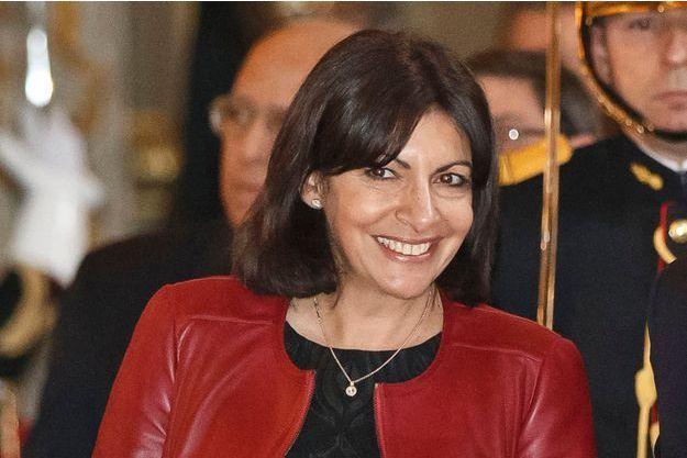 Anne Hidalgo à l'Elysée lors de la visite de Raul Castro le 2 février.