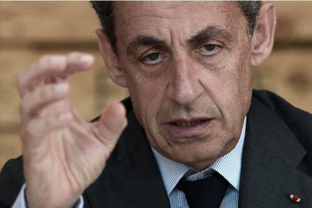 Nicolas Sarkozy le 9 juillet.