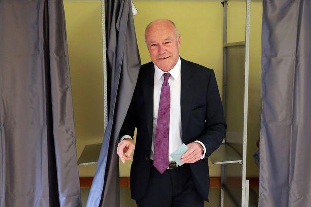 Alain Rousset, candidat socialiste en Aquitaine-Limousin-Poitou-Charentes, dimanche.