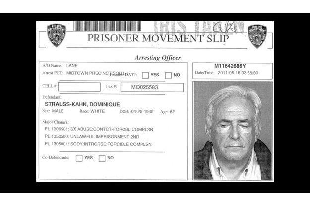 Dominique Strauss-Kahn le soir de son arrestation, le 14 mai dernier.