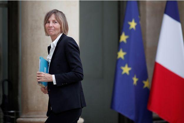 Marielle de Sarnez à L'Elysée la semaine dernière.