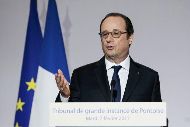 François Hollande mardi au tribunal de Pontoise