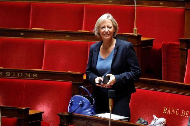 Sophie Cluzel, ici à l'Assemblée nationale en octobre dernier