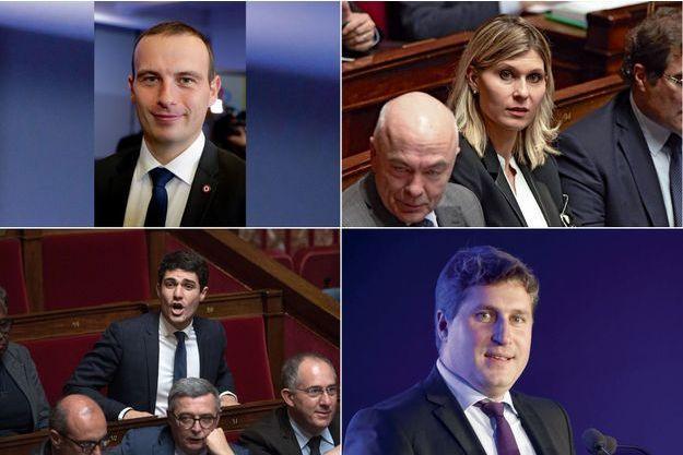 Fabien Di Filippo, Virginie Duby-Muller, Aurélien Pradié, Mathieu Darnaud