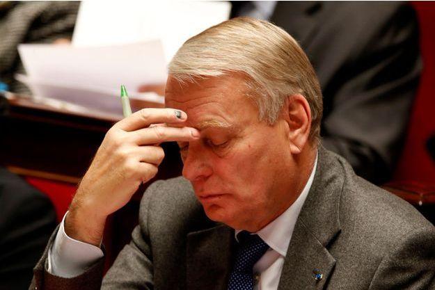 Jean-Marc Ayrault sur les bancs de l'Assemblée nationale le 13 novembre dernier