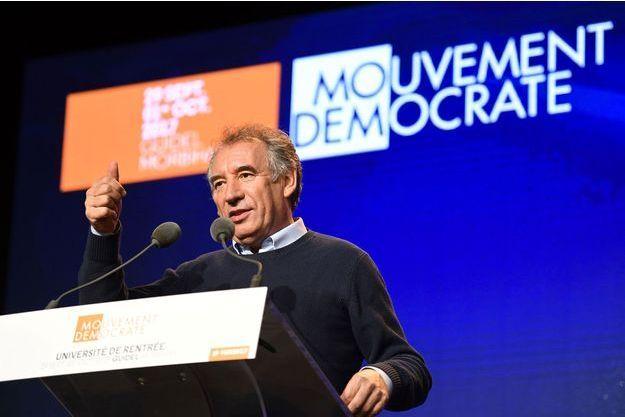 François Bayrou à Guidel, le 29 septembre.