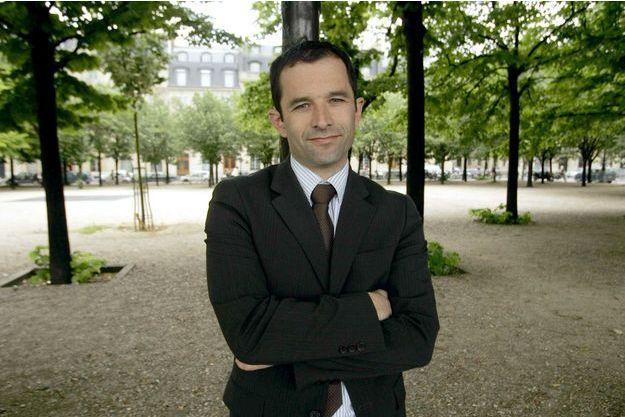 Benoît Hamon en juin 2008.