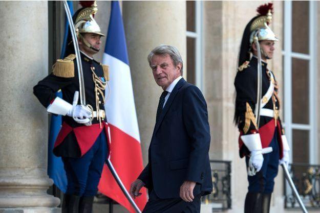 Bernard Kouchner à l'Elysée en septembre dernier.