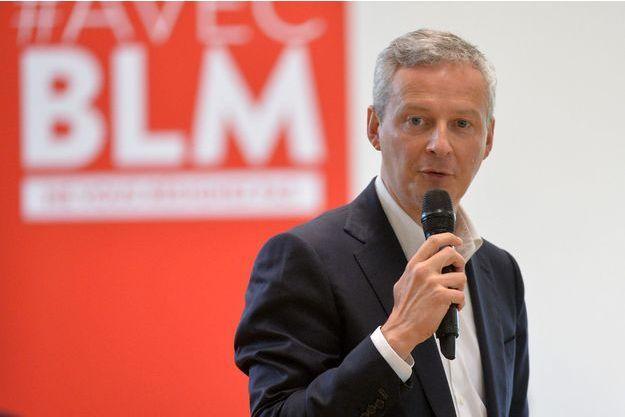 Bruno Le Maire le 3 juin.