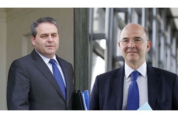 Xavier Bertrand et Pierre Moscovici.