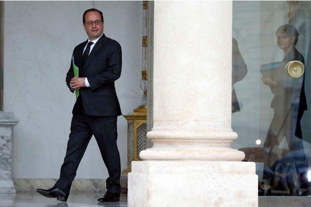 François Hollande mercredi 20 mai.