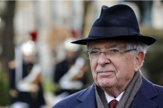 Jean-Pierre Chevènement le 11 novembre à Paris.