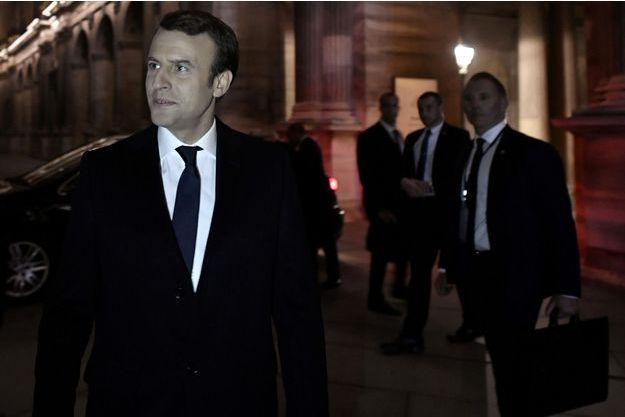 Emmanuel Macron a été élu dimanche.