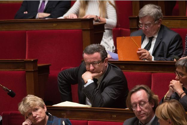 Christian Paul à l'Assemblée nationale mardi.