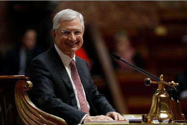 Claude Bartolone, le 22 février 2017 à l'Assemblée nationale