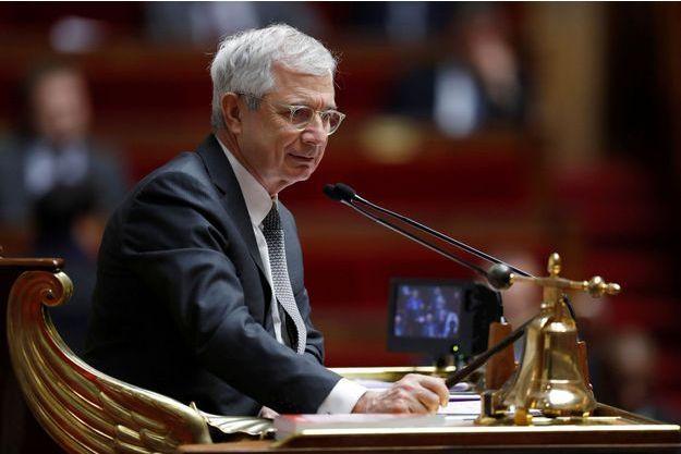 Claude Bartolone le 16 novembre dernier à l'Assemblée nationale.