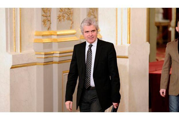 Claude Sérillon, le 12 janvier, à l'Elysée.