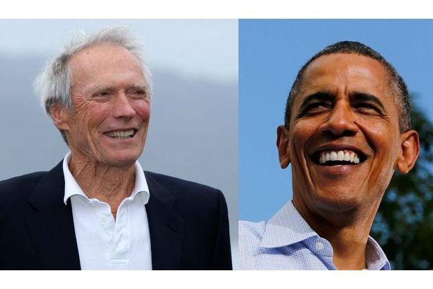 Barack Obama et Clint Eastwood se sont répondu avec humour, sur fond de campagne présidentielle.