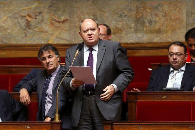 René Dosière dans l'hémicycle en 2013.